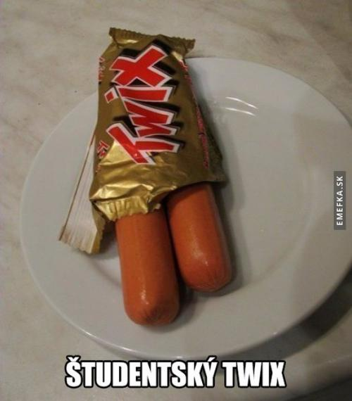 Studentský twix
