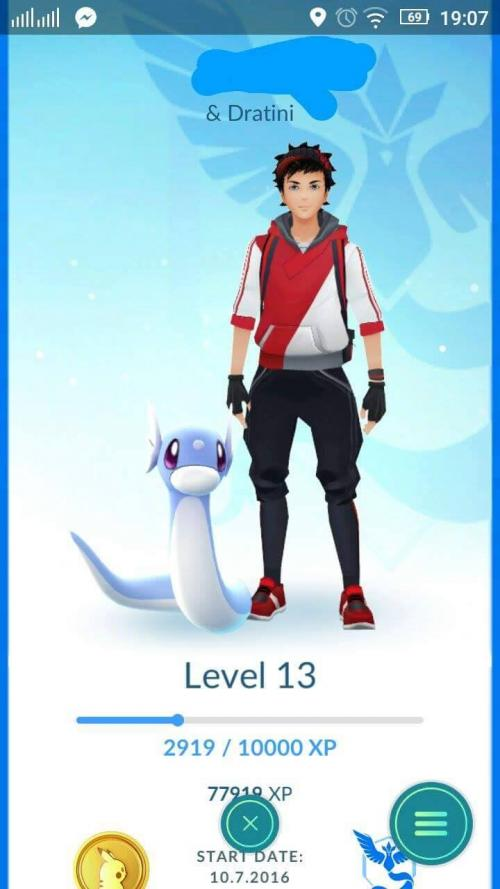 Aktualizace Pokémon GO
