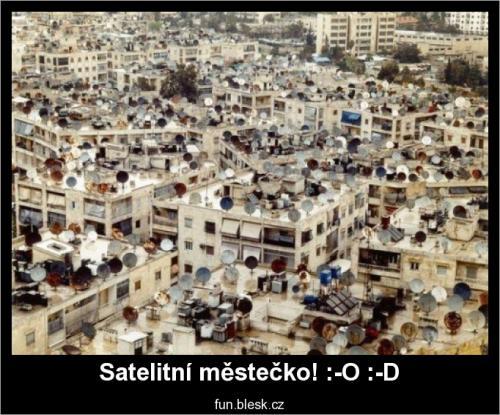 Satelitní městečko