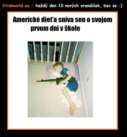 Americké dítě