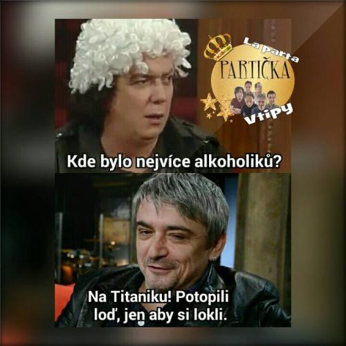 Alkoholici na Titatiku