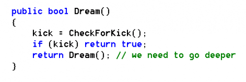 inception code