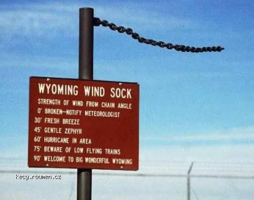 wyoming windsock