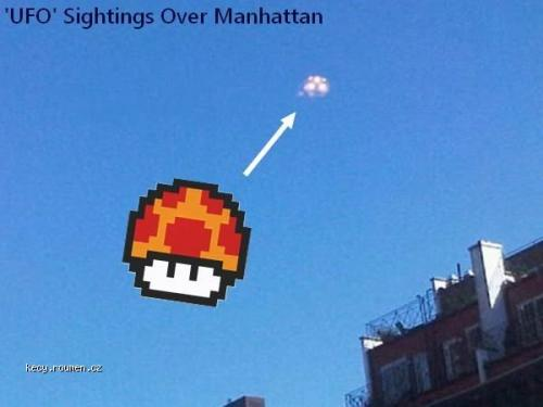 UFO Sightings Over Manhattan