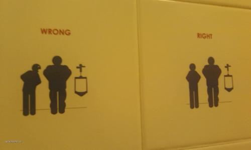 jak se chovat na wc