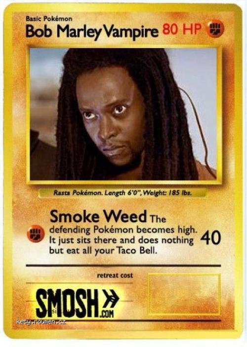 Bob Marley Pokemon