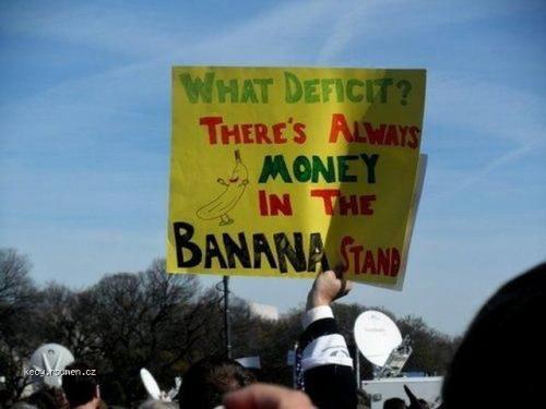 What deficit