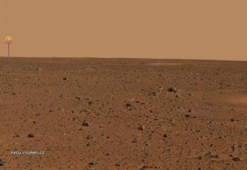 First Mars Photo