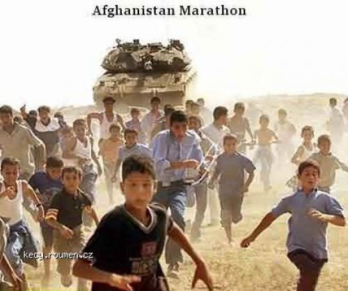 afghanistan marathon