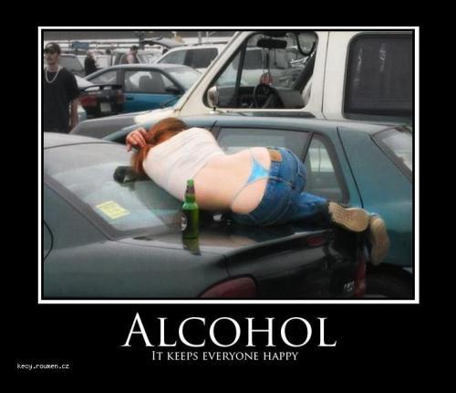 alcohol happy