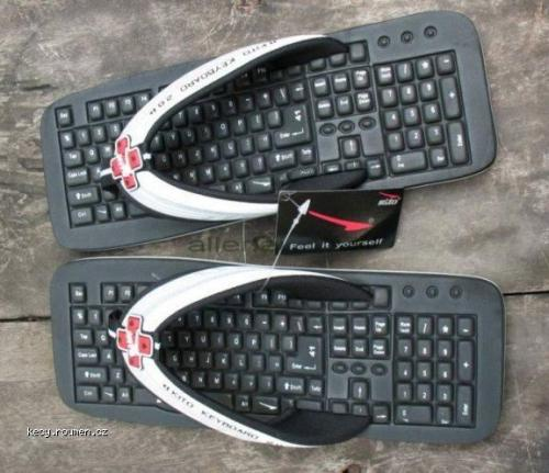 Keyboard Flip Flops