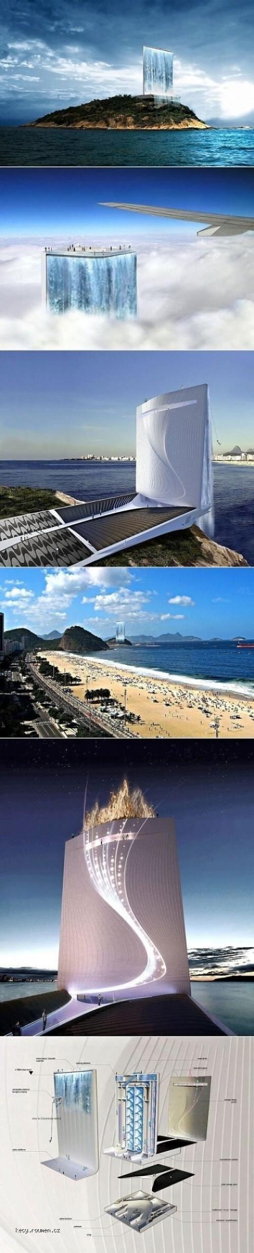 Solar City Tower for Olympics 2016  Rio de Janeiro