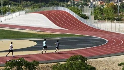 Running Track With Hills For The Super Fit