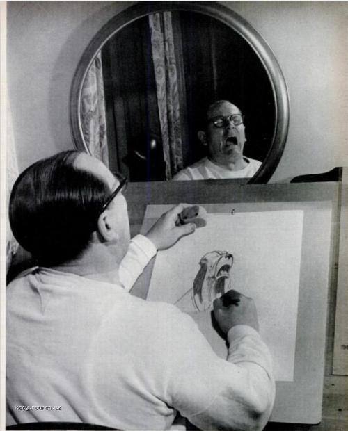 Z historie Autoportret