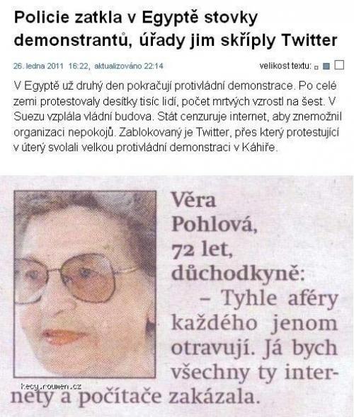 Vera Pohlova internetova vizionarka
