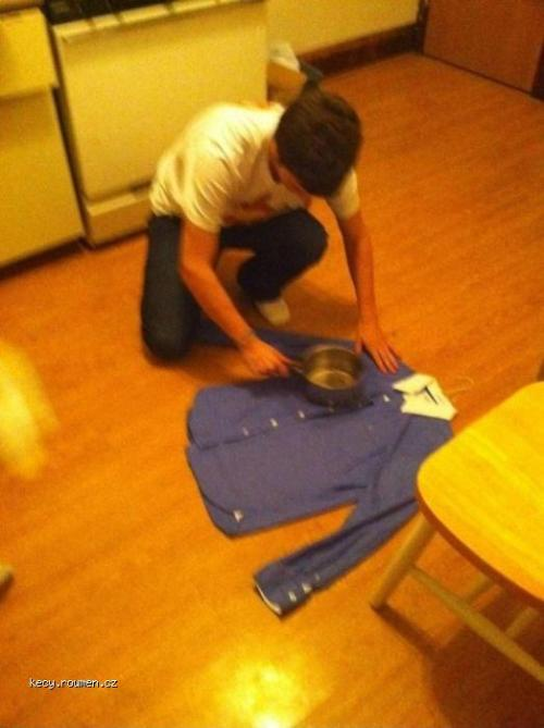 How To iron Like A Boss When You Dont Have An Iron