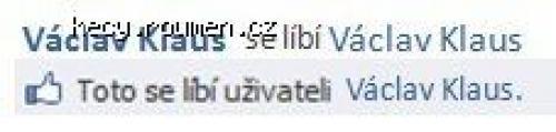Vaclav se libi Vaclav