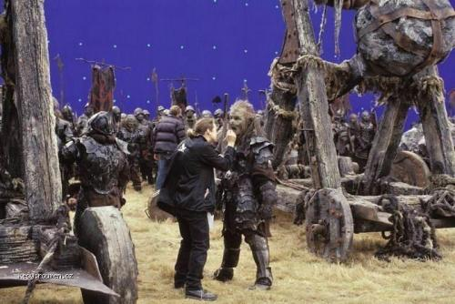 On the set of Lord of the Rings 3