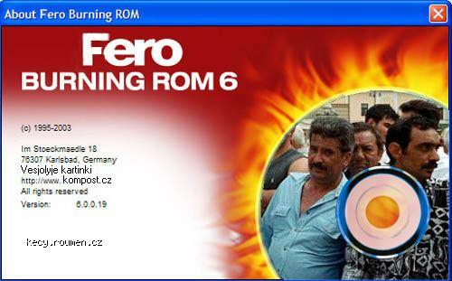 Fero burning Rom