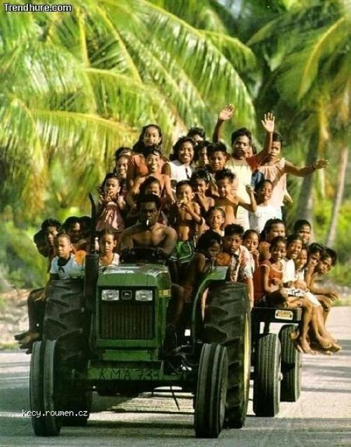 Kids  African Taxi