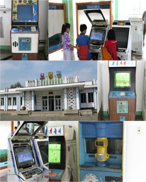 Inside a North Korean Arcade