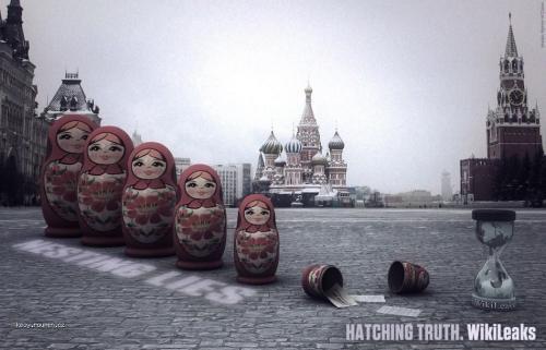 WikiLeaks Moskva