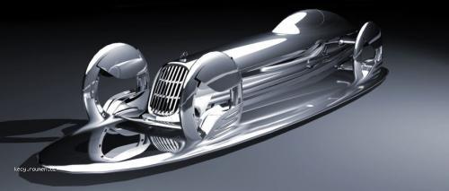 mercedes benz silver flow 2057