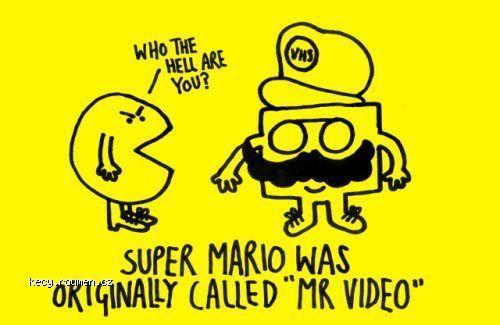 super mario was