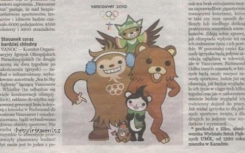 Gazeta Olsztynska FAIL  Vancouver a stary znamy