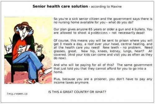 Senior health care solution