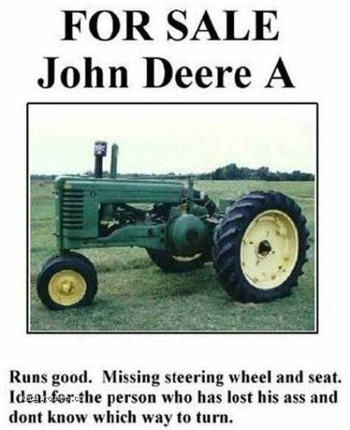 For Sale John Deere