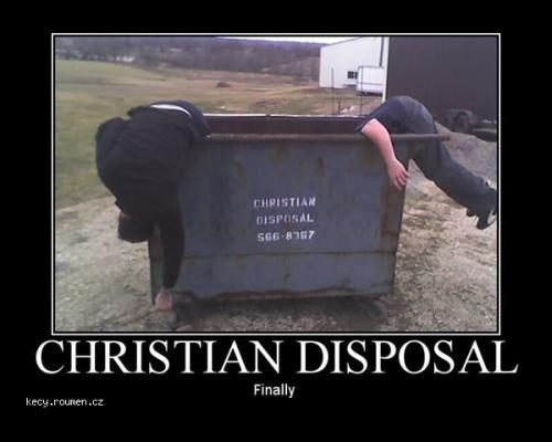 christian disposal