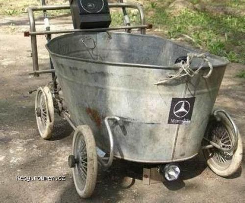 Mercedes Benz koupelovy