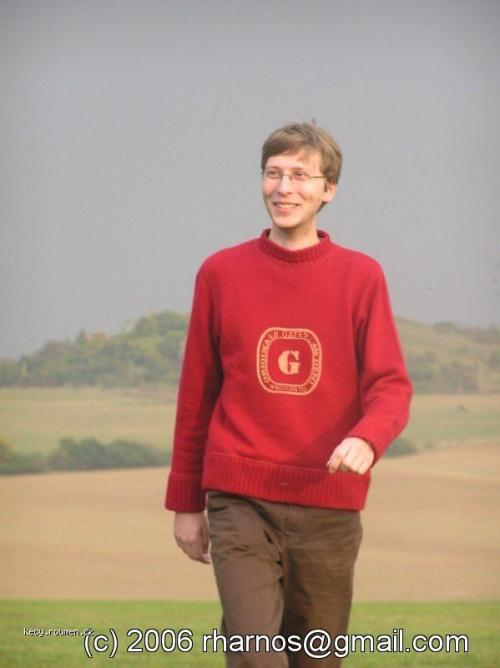Bill Gates junior inkognito v CR