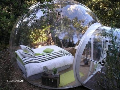 The Bubble Bed