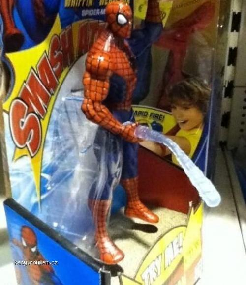 Spiderman failwin