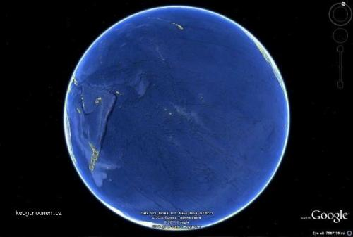 Picture of the day  It is incredible how big the Pacific ocean is
