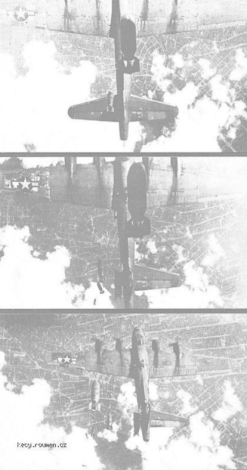 B17 bomb run