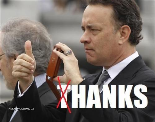 thanks x hanks
