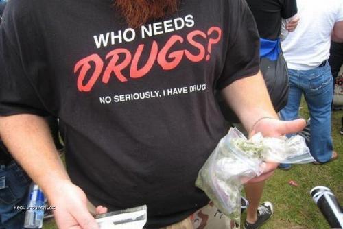 who needs drugs