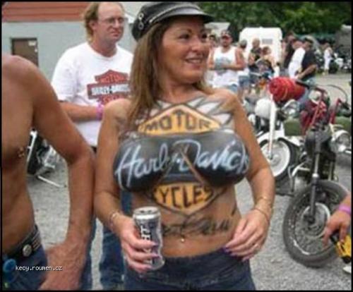 Harley Davidson  28Bodypaint 29