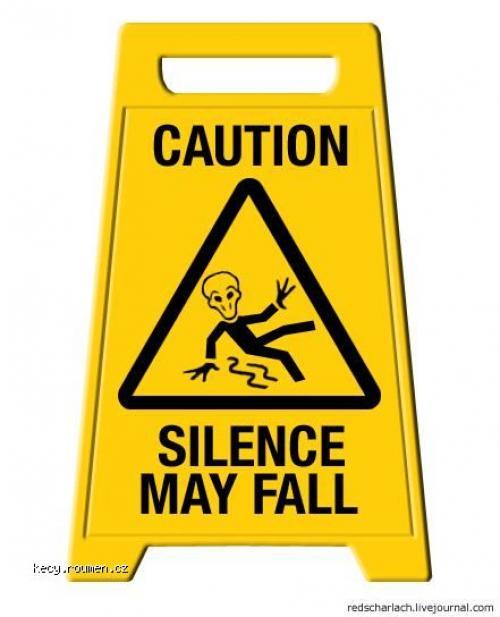 silence may fall