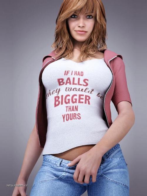 X If I Had Balls