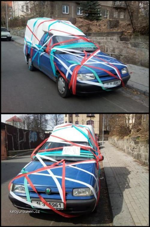 April prank Liberec 2011