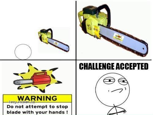 saw challenge