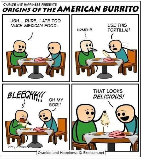 X Origin Of The American Burrito
