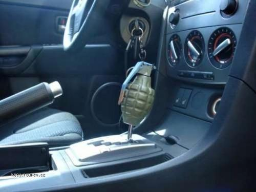 Creative Homemade Shift Knob