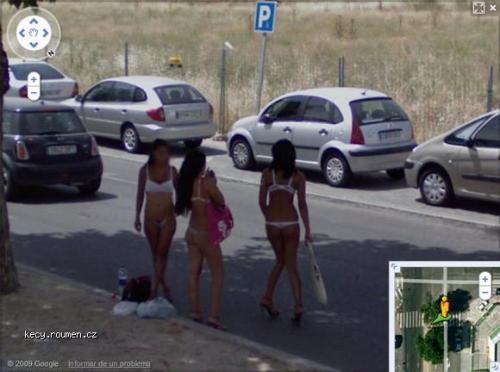 street view grab madrid