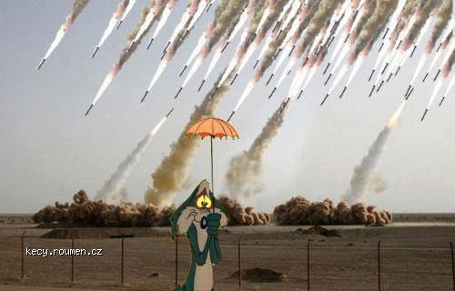 protiraketovy destnik
