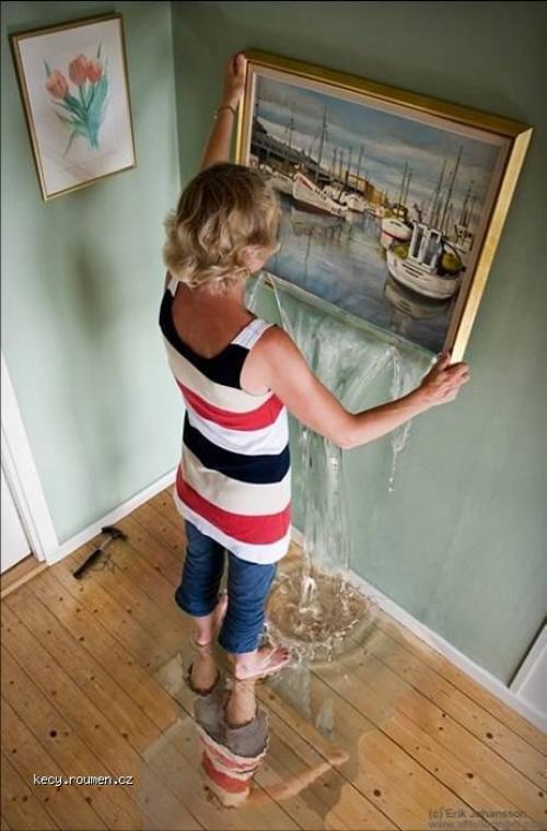 Erik Johannson Hanging sea on the wall